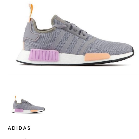 Adidas Shoes Womens Nmd R1 Size 75 Light Grey Poshmark